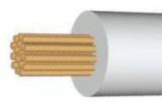 Провод термостойкий, термостойкий кабель, прка 4, ПРКА 1 х 4.0 мм2
