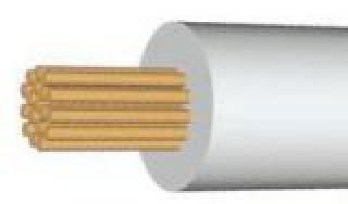 Провод термостойкий, термостойкий кабель, ПРКА 1 5, ПРКА 1 х 1.5 мм2