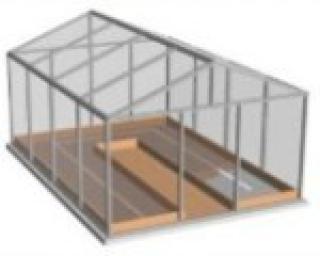 лента греющая, плоский нагреватель, ЭНГЛ-1-0 54 220-20, гибкий нагревательный, 20 метров