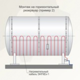 Ленточный нагреватель, ЭНГЛ 2, гибкий нагревательный, 55 метров