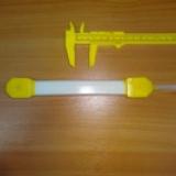 нагревательный 24, нагреватель 24, низковольтный греющий кабель 24 вольта, ЭНГЛ-2-0 05 24-2 5, лента греющая, 2.5 метра