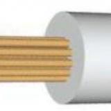 ПРКА, провод прка, кабель прка, прка 4, ПРКА 1 х 4.0 мм2